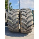 LOT DE 2 PNEUS 650/65R38 MICHELIN OCCASION