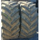 LOT DE 2 PNEUS 540/65R30 PIRELLI TM800 OCCASION 50% US